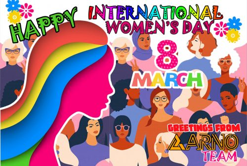 Happy International Women's Day – 8th of March 2021