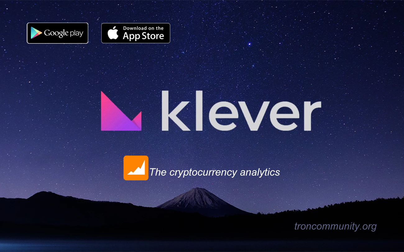 Klever Wallet – A cryptocurrency Analytics
