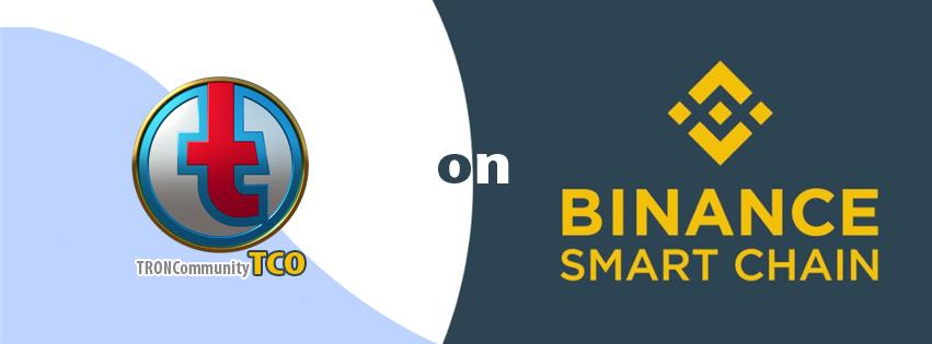 TRONCommunity (TCO) on Binance Smart Chain