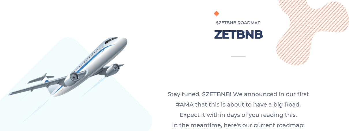 ZETBNB is Multi Purpose Project Auto-generate Advertisement, liquidity, DeFi, and NFT aircraft Market project built on Binance Smart Chain #BSC.